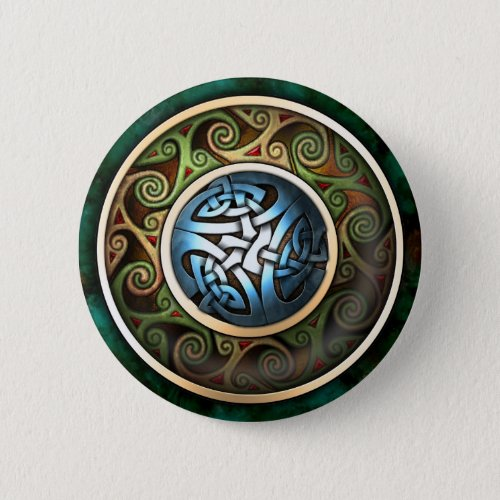 Celtic Knot Button