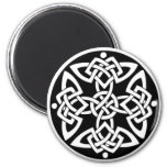 Celtic Knot Button Magnet
