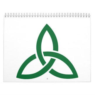 Celtic knot calendars