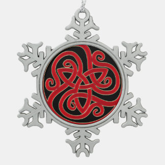 Celtic Knot Christmas Tree Ornament