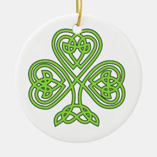Celtic Knot Cross Tree Ornament