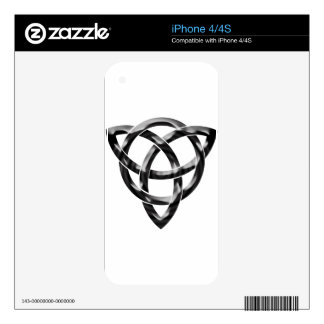 Celtic Knot Decals For iPhone 4S