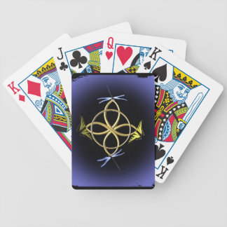 Celtic Knot Design Bicycle Playing Cards