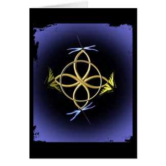 Celtic Knot Design Greeting Card