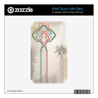 celtic  knot design decal for iPod touch 4G