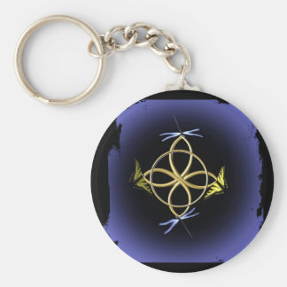 Celtic Knot Design Keychain