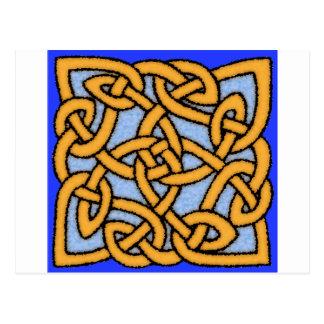 Celtic Knot Design No. 1 Postcard