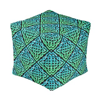 Celtic Knot - Diamond Blue Green