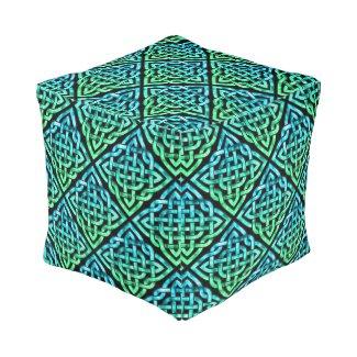 Celtic Knot - Diamond Blue Green