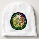 Celtic Knot Dragon Mandala Baby Beanie
