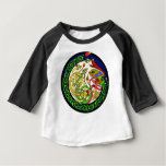 Celtic Knot Dragon Mandala Baby T-Shirt