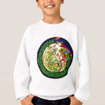 Celtic Knot Dragon Mandala Sweatshirt