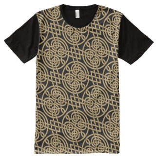 """Celtic Knot """"Durrow"""" Pattern All-Over-Print T-Shirt"""
