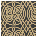 """Celtic Knot """"Durrow"""" Pattern Fabric"""
