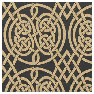 Celtic Knot Fabric Zazzle