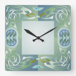 Celtic Knot Eagle Pattern Wall Clock