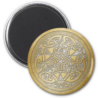 Celtic Knot Gold Birds & Silver-Fridge Magnet