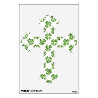Celtic Knot Green Shamrock Wall Sticker