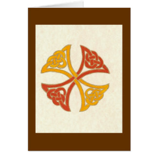 CELTIC KNOT GREETING CARD