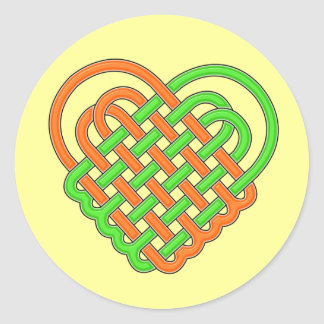 Celtic Knot Heart 002 Sticker