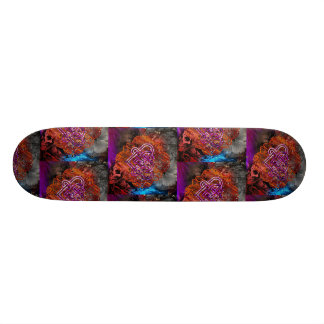 Celtic Knot heart By Nathan Robert Simonson Skateboard