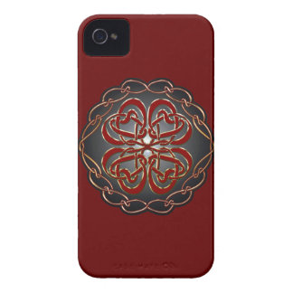 Celtic knot Hearts Case-Mate iPhone 4 Cases