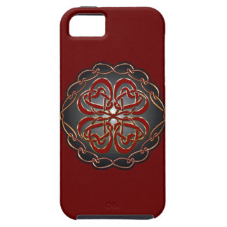 Celtic knot Hearts iPhone SE/5/5s Case