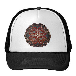 Celtic knot Hearts Trucker Hat