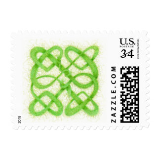 Celtic Knot I - Small Postcard Stamps .32