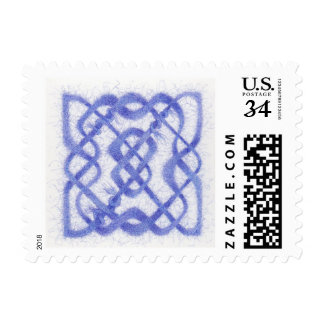 Celtic Knot III - Postcard Stamps  .32