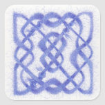 Celtic Knot III - Square Stickers