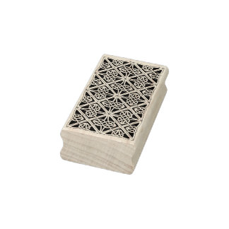 Celtic knot illustration art stamp