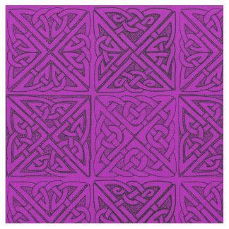Celtic Knot in Purple Fabric