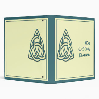 Celtic Knot in Teal and Mythic Ivory Binder