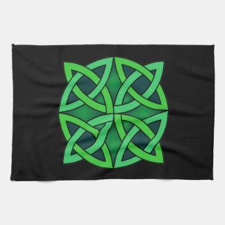 celtic knot ireland ancient symbol pagan irish gre kitchen towel