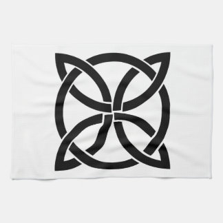 celtic knot ireland ancient symbol pagan irish hand towel