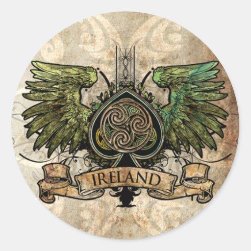 Celtic Knot Ireland Irish Tattoo Urban Stickers