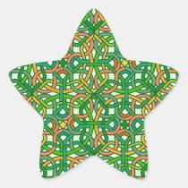 Celtic Knot Irish Braid Pattern Green Pretty
