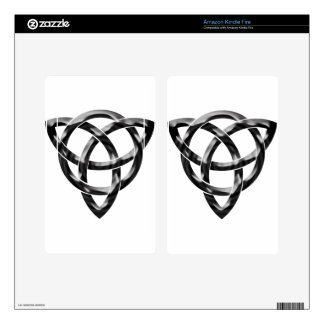 Celtic Knot Kindle Fire Decal