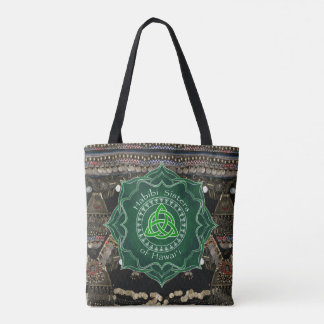 Celtic Knot Kuchi Belly Dance Tote Bag