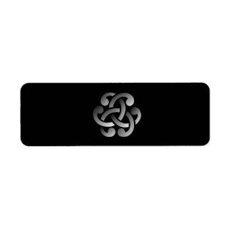 Celtic Knot Label