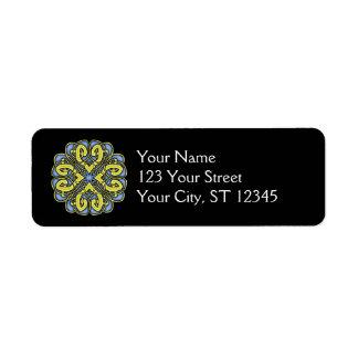 Celtic Knot Label Return Address Label
