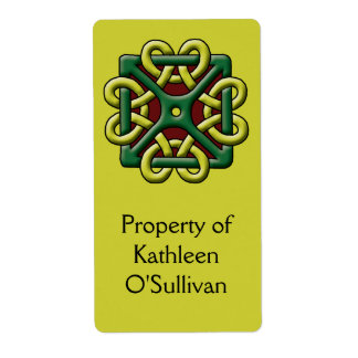 Celtic Knot Label Shipping Label