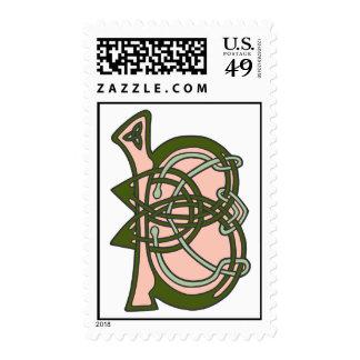 Celtic Knot letter initial monogram B Stamps