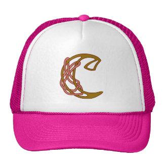Celtic Knot letter initial monogram C Trucker Hat