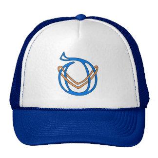 Celtic Knot letter initial monogram D Trucker Hat