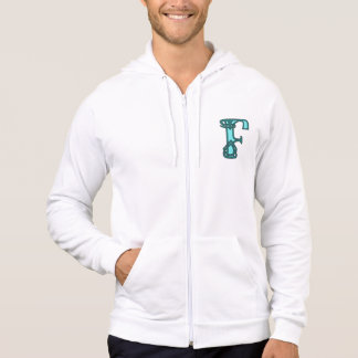 Celtic Knot letter initial monogram F Hoodie