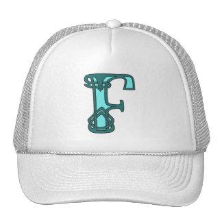 Celtic Knot letter initial monogram F Trucker Hat