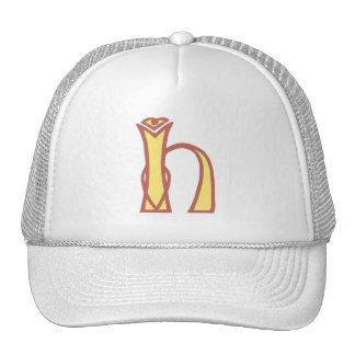 Celtic Knot letter initial monogram H Trucker Hat