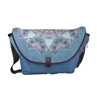 Celtic Knot Mandala Kaleidoscope Messenger Bag